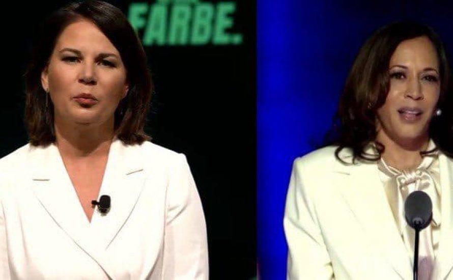 """""""Girlboss""""-Parallelen bei Baerbock und Harris - Ein weißer Blazer ist keine weiße Weste"""