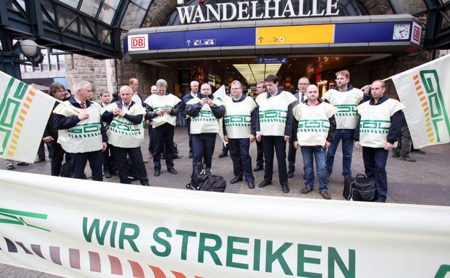 GDL-Streik: Stark, aber noch nicht stark genug