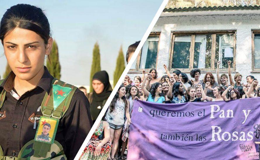 Feministischer Workshop-Nachmittag in München: Von Rojava über St. Petersburg nach Barcelona