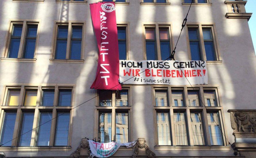 HU-Besetzung: LAK Berlin solidarisiert sich mit angeklagten Studis