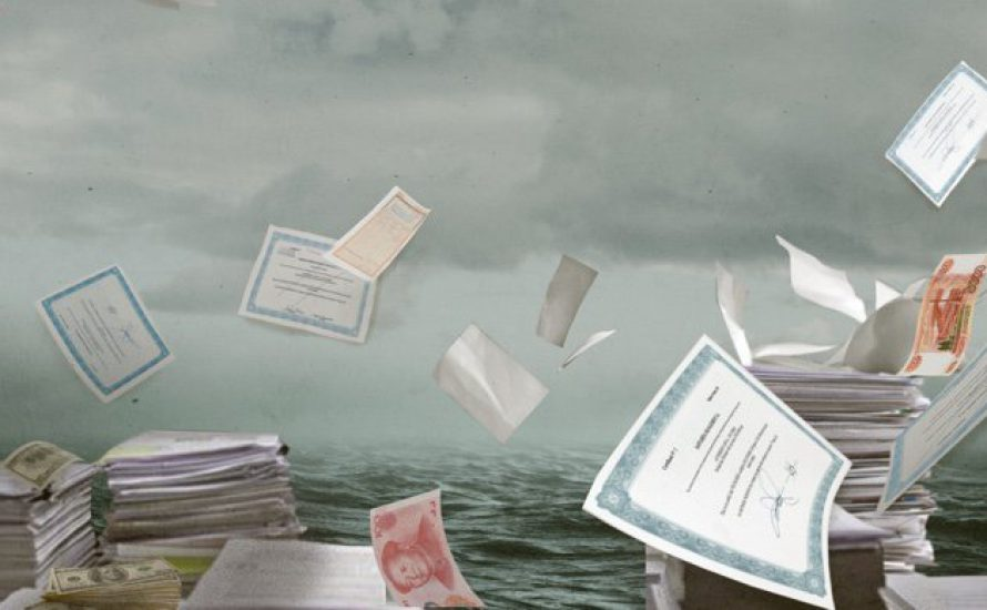 Weltumspannendes Netz von Steuerhinterziehung, Geldwäsche, Korruption