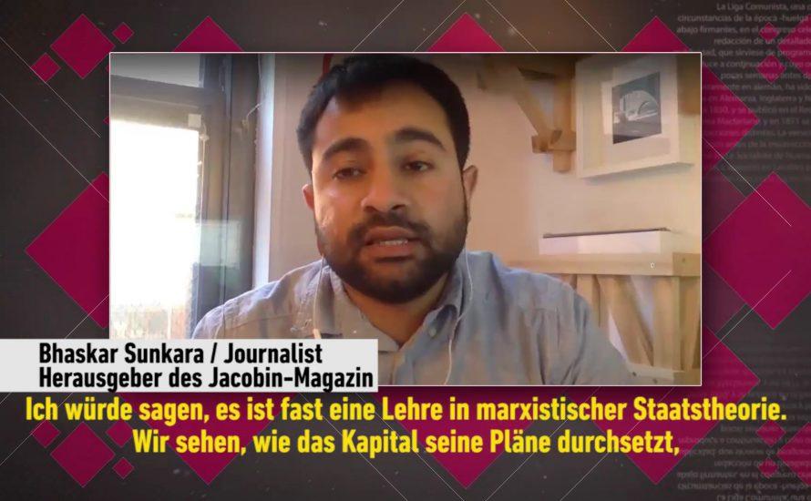 [Video] Ein Monat Trump: Interview mit Bhaskar Sunkara (Jacobin Magazine)