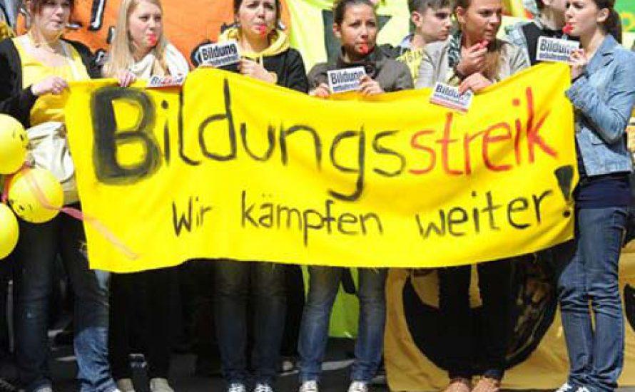 Bildungsstreik 2010: Die Wut ist da, aber die Perspektive fehlt!