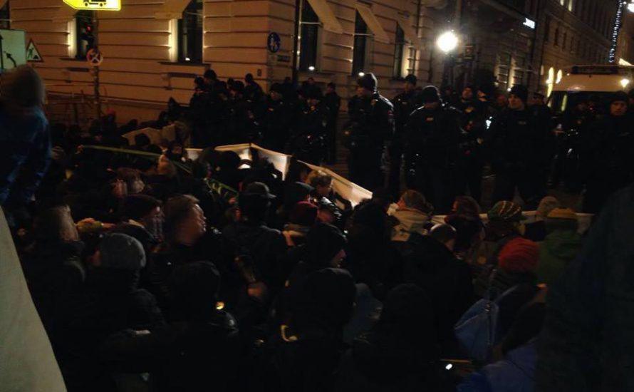 Pegida-Geburtstag: Polizei macht München unsicher