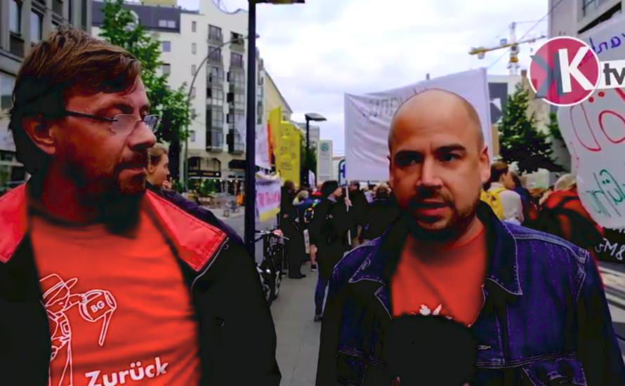[Video] Warum Beschäftigte des Botanischen Gartens den Pflegestreik unterstützen