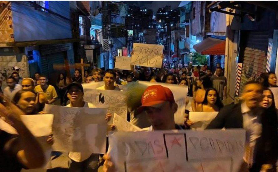 9 tote Jugendliche: Polizeigewalt bei Party in Brasilien