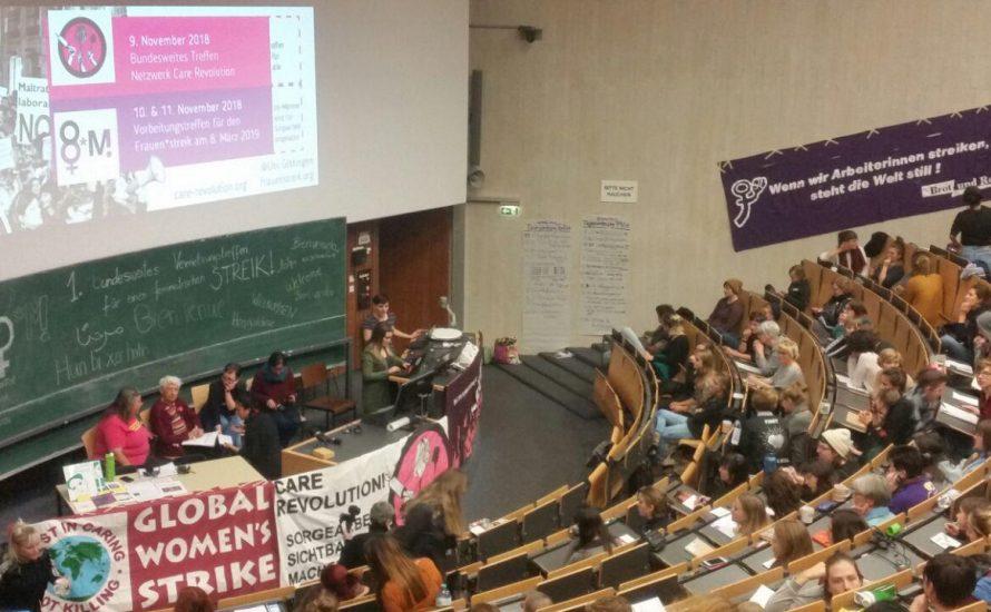 Bundesweites Vernetzungstreffen in Göttingen: Ein wichtiger Schritt zum Frauen*streik