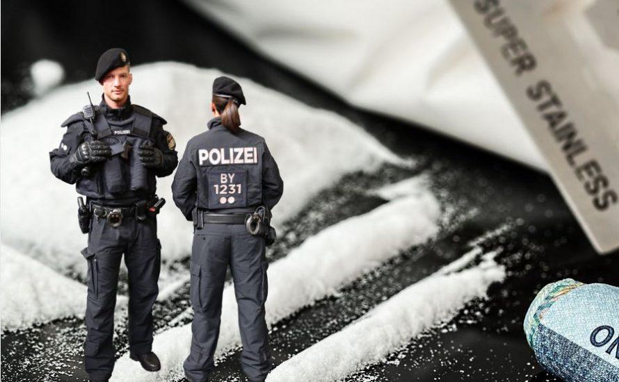 Organisierte Kriminalität bei der Münchner Polizei – 21 Razzien nach Koks-Skandal