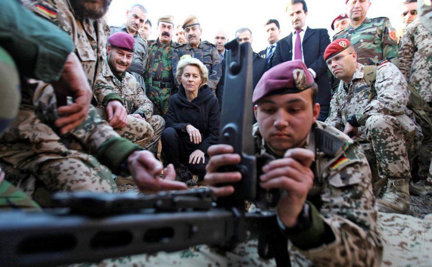 Deutschland verstärkt den Krieg im Irak