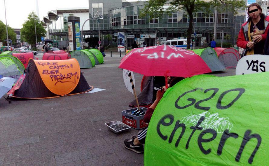 AntiG20 Aktivist*innen setzen Polizei und Stadt ein Ultimatum