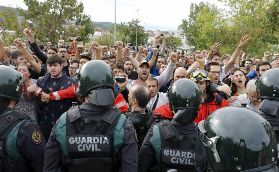 Unterstützen wir den Aufstand der katalanischen Bevölkerung und ihr Recht auf Selbstbestimmung!