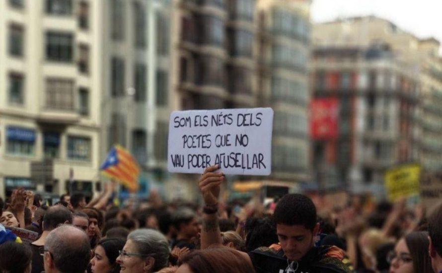 Stoppt die Repression. Verteidigt die demokratischen Rechte für Katalonien