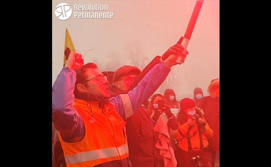 [VIDEO] Reportage vom unbefristeten Streik bei Total in Frankreich