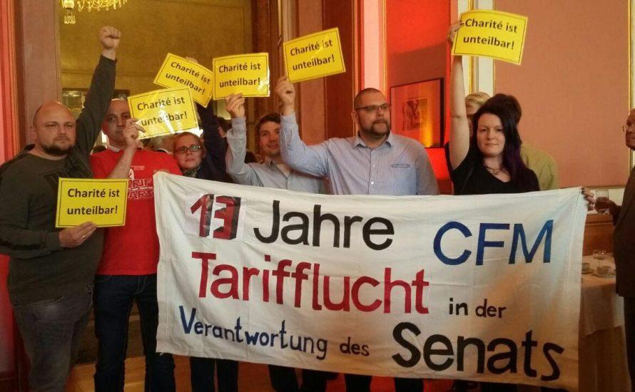CFM: Protest bei Michael Müllers Märchenstunde