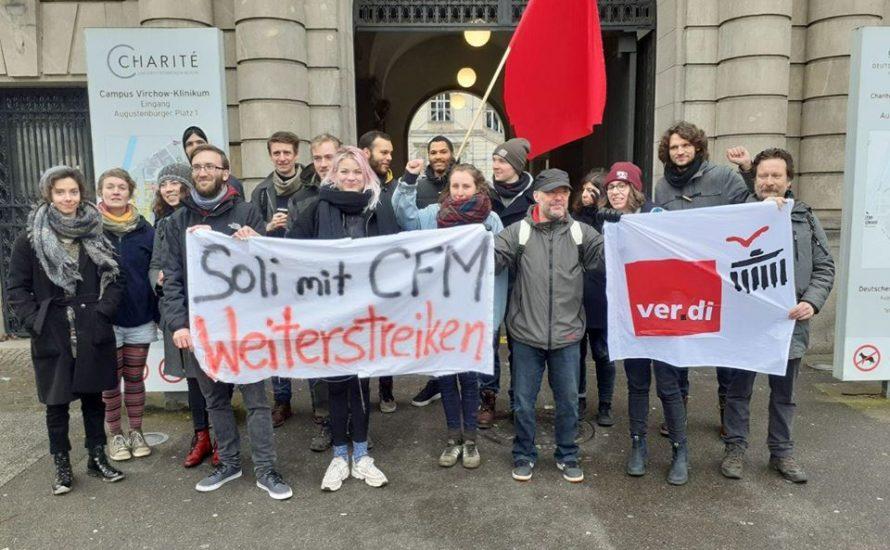 Kundgebung: Solidarität mit dem CFM-Streik