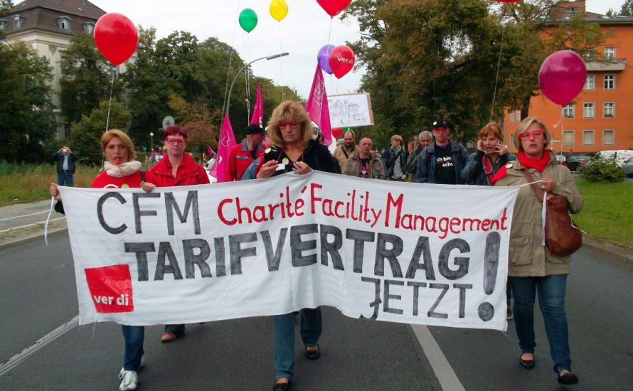 Skandalöser Streikbruch bei der CFM
