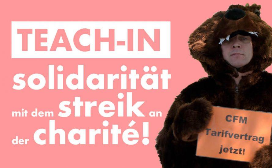Teach-in und studentischer Solidaritätsbesuch beim CFM-Streik!