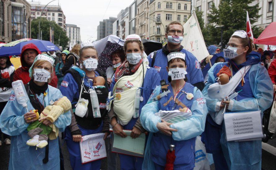 AKUT München: Junge Krankenhaus-Beschäftigte organisieren sich selbst