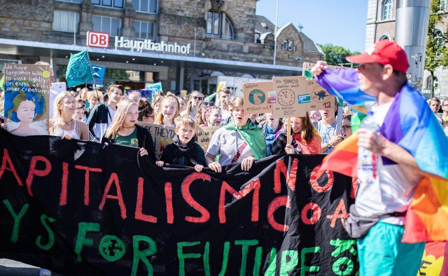 Der Kapitalismus kann nicht grün sein! Für eine antikapitalistische Perspektive gegen die Zerstörung unseres Planeten!