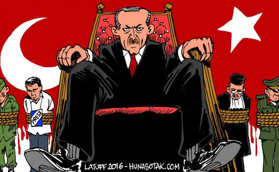 Türkei: Erdoğan verlängert den Ausnahmezustand und erklärt die Fortsetzung des Kriegs