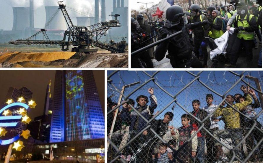 EU: Diktatur des Großkapitals, rassistischer Grenzposten und Folterkammer der Austeritätspolitik