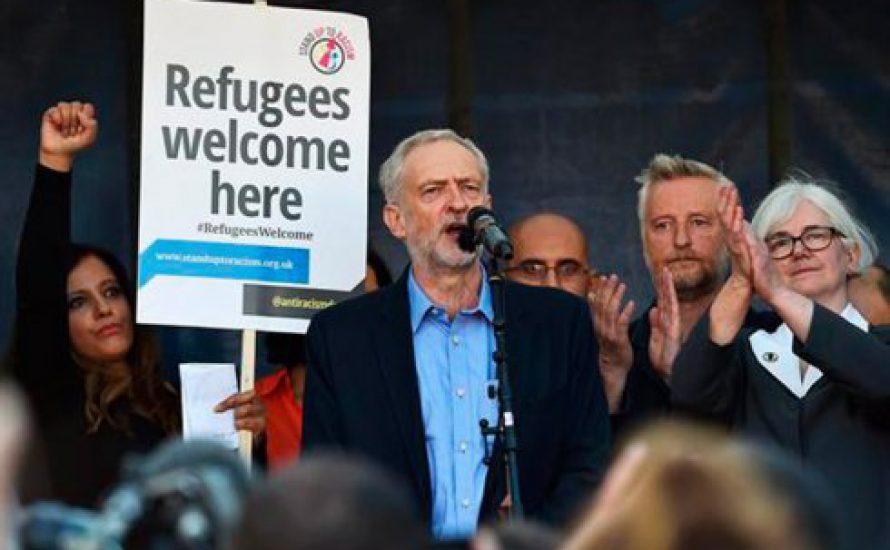 Mit Unterstützung der Basis setzt sich der linke Flügel der Labour-Partei durch