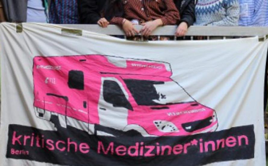 Kritische Mediziner*innen in Solidarität mit den VSG-Streiks