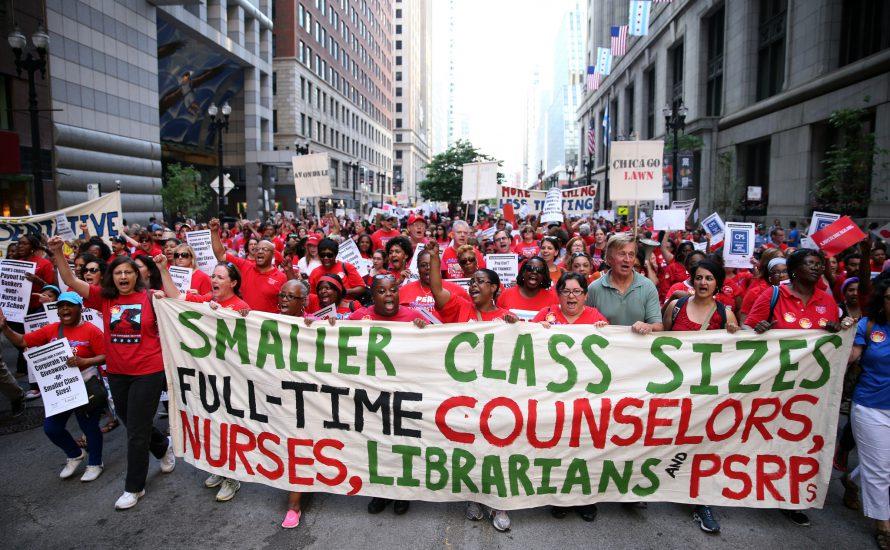Chicago: Streiken Lehrer*innen bald für eine bessere Schule?
