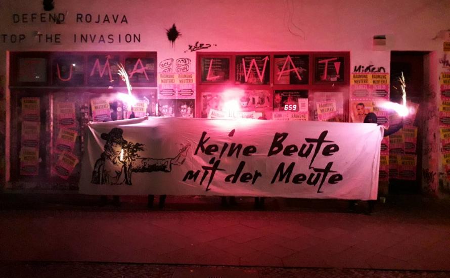 Berlin: Meuterei geräumt, Linkspartei drischt Phrasen