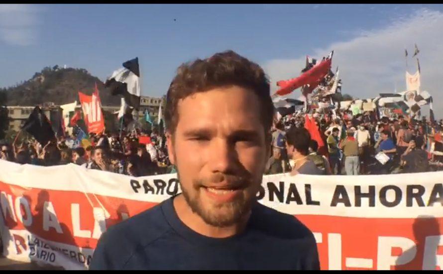Chile: Mobilisierung gegen das neue Anti-Protest-Gesetz