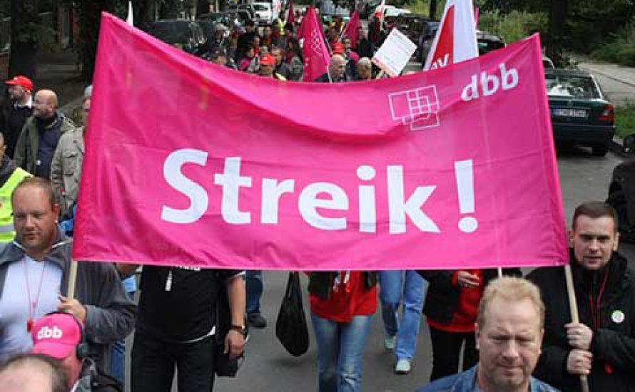 Solidelegation für den CFM-Streik