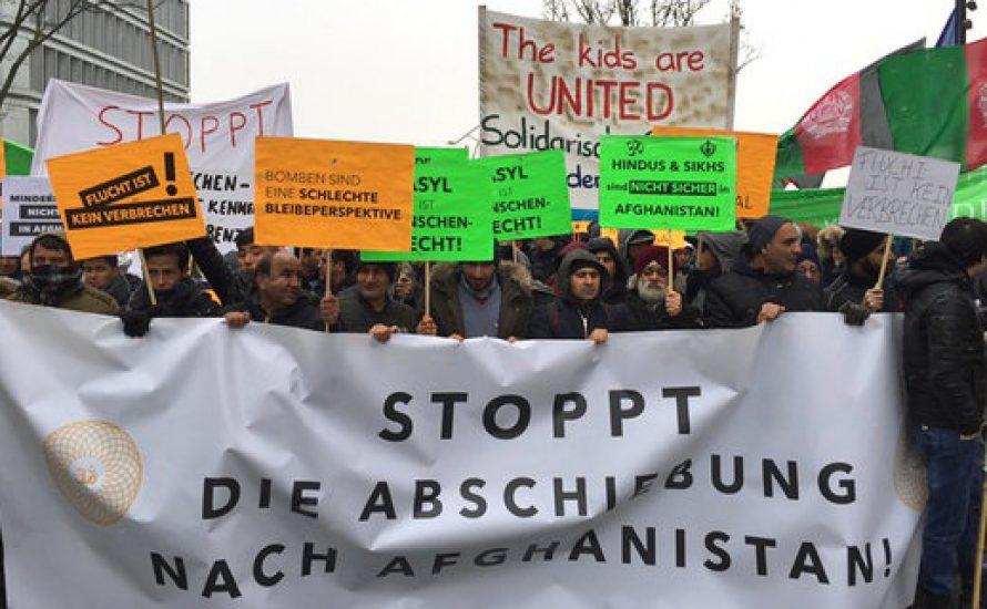 """8.000 Menschen sagen: """"Afghanistan ist nicht sicher"""""""