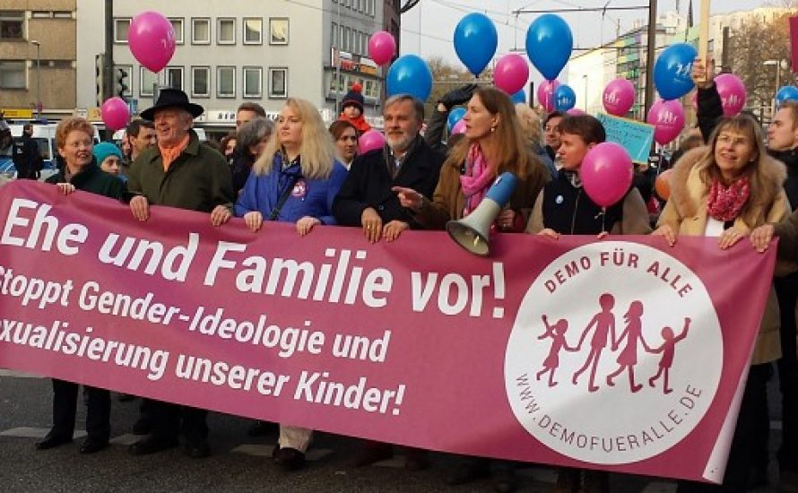 Sexualerziehung ist ein Recht! 'Demo für alle' weggendern!