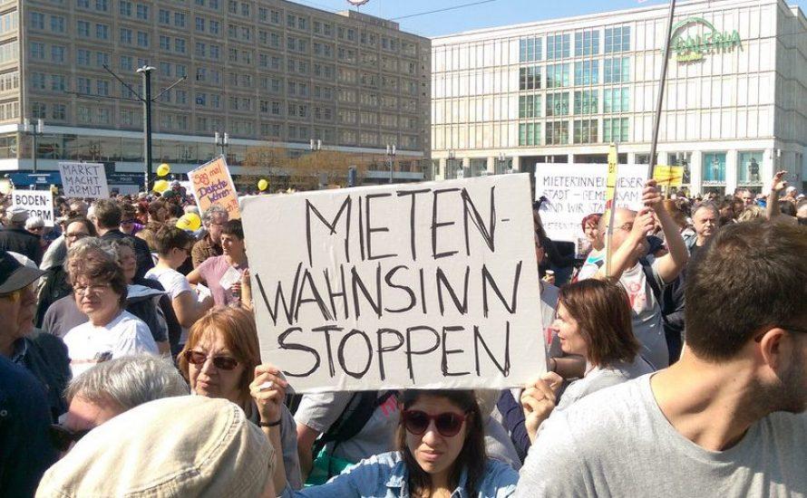 27. März in Berlin: Mietenwahnsinn stoppen! DW&Co enteignen!