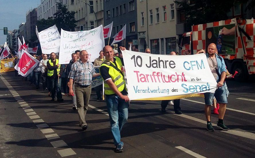 Kein fauler Kompromiss! Streikende der CFM stimmen gegen Angebot der Geschäftsführung