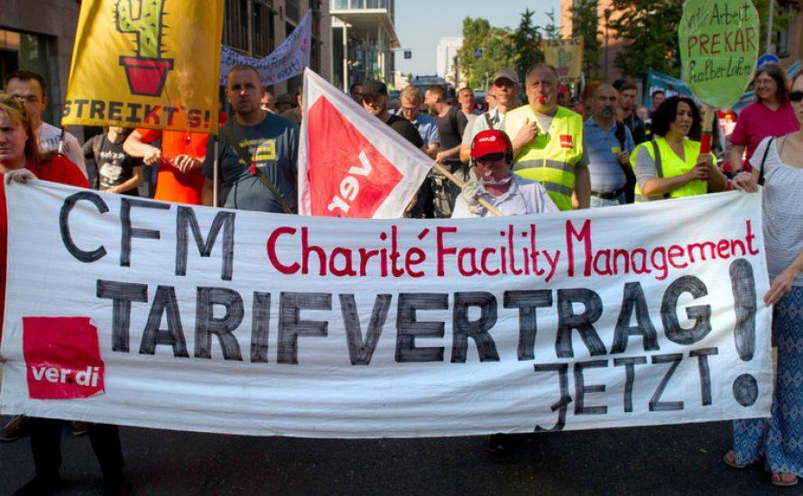 Outsourcing und Privatisierung verbieten!