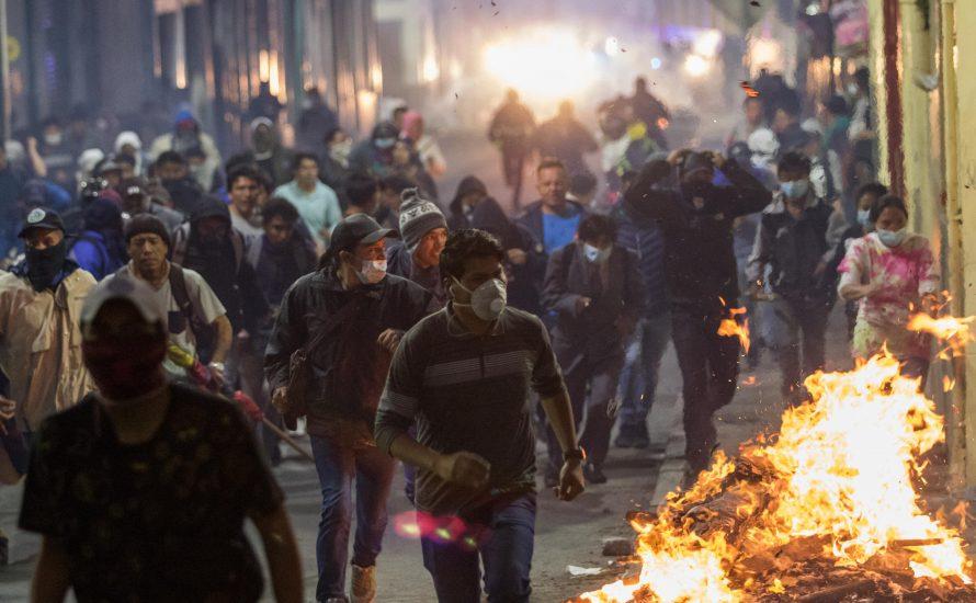 Ecuador: Massenstreiks gegen Kürzungen seit einer Woche – Tote nach Repression