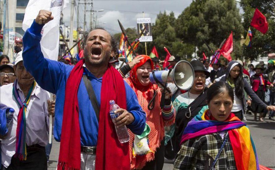 Neoliberale Repression gegen Indigene in Ecuador