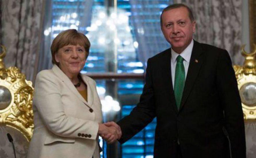 Merkel verhandelt mit dem mörderischen Regime von Erdogan