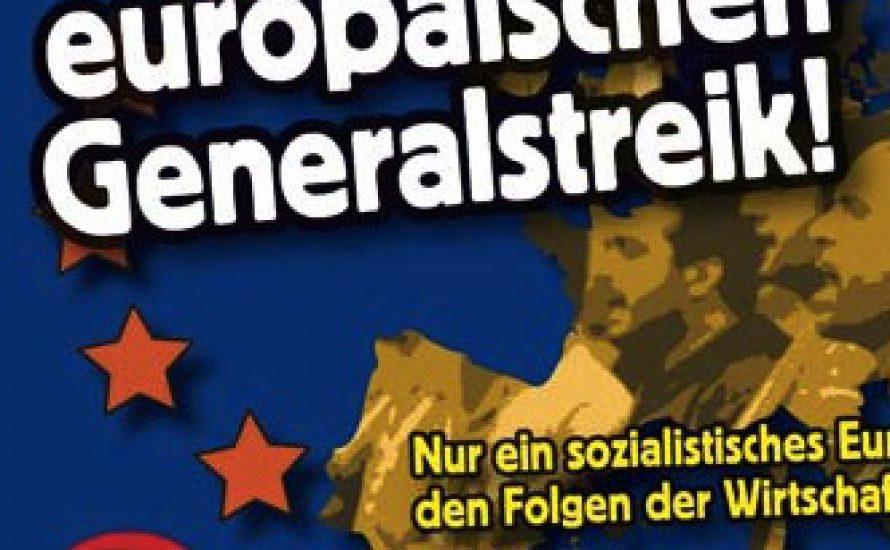 Für einen europäischen Generalstreik!