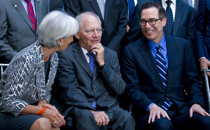 USA und IWF gegen deutsche und chinesische Exportüberschüsse