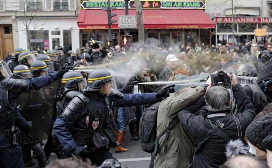 Paris: Nach der Repression vom Sonntag werden erste Exempel statuiert