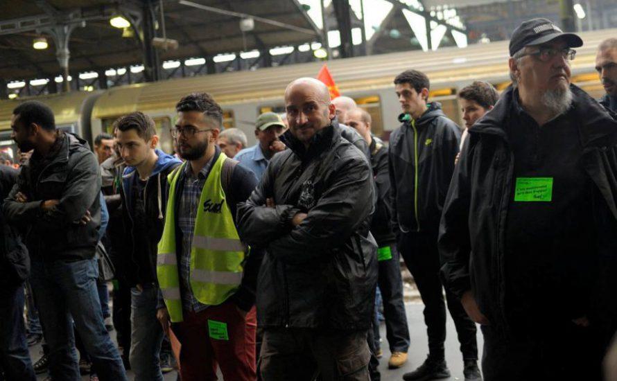 Frankreich: Repression der Bosse tötet Eisenbahner. Eine Hommage an Edouard