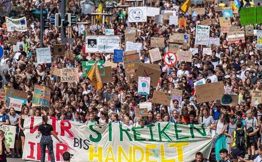 Ausstempeln oder streiken? Für einen politischen Klima-Generalstreik der Gewerkschaften!