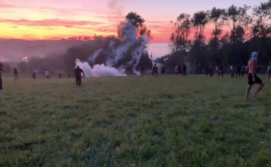 G7: Protestcamp von der Polizei angegriffen
