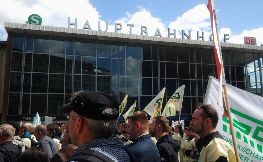 Verteidigt den GDL-Streik!
