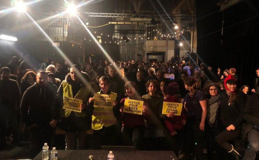 Fast 300 bei Veranstaltung zum revolutionären Geist der Gelbwesten in Paris
