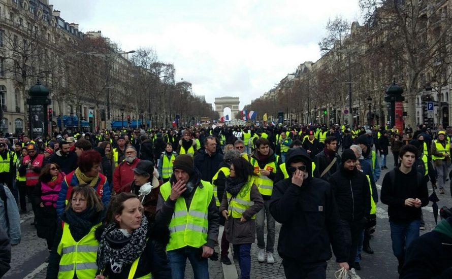 Ein Wochenende in Paris: Die Ausdauer der Gelbwesten