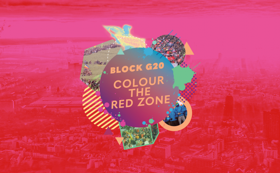Autonome Ästhetik: G20 als Holi-Festival?
