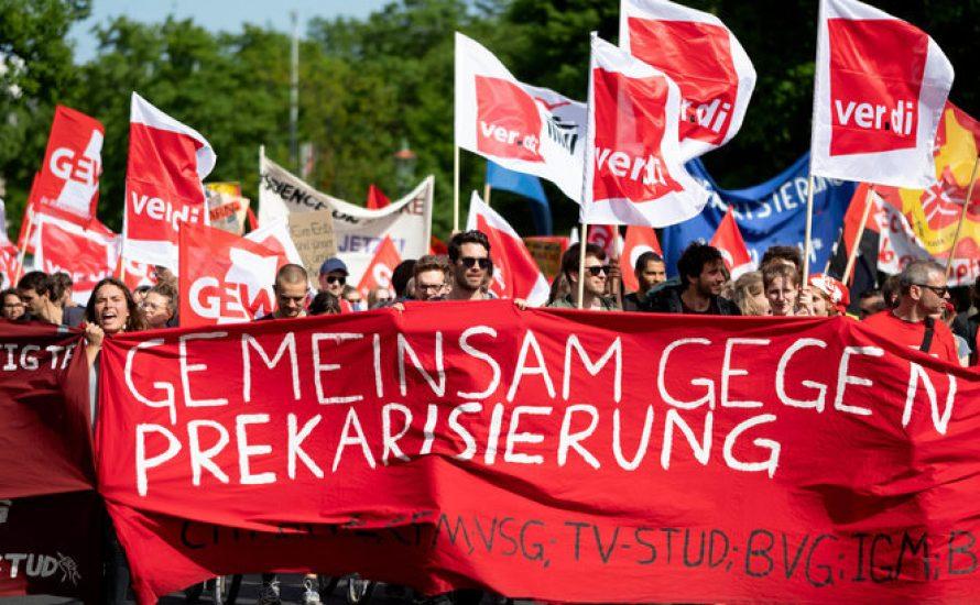 München: HiWis, Pflege, ...gemeinsam streiken! Warnstreik-Aufrufe von ver.di und GEW
